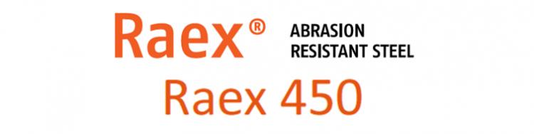 L'acier anti-usure Raex® 450