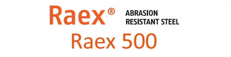 L'acier anti-usure Raex® 500